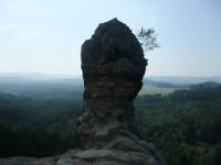 Čápská palice - jedinečný pohled na krajinu Kokořínska