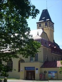 Výhled na Liberec a Ještěd - Lidové sady