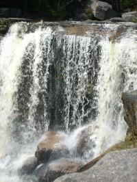 Největší a nejkrásnější vodopád Jizerských hor - Jedlové vodopády