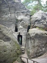 Samuelova jeskyně u Sloupu v Čechách