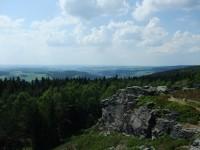 Pohled z Vysokého kamene