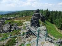 Pohled na skalní masiv
