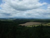 Výhled z Tobiášova vrchu