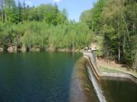 Hráz přehrady Naděje