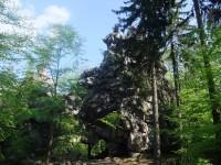 Zřícenina hradu Milštejn
