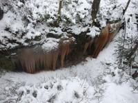 Ledopády u Brtnického hrádku