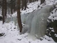 Ledopády u Vlčího potoka