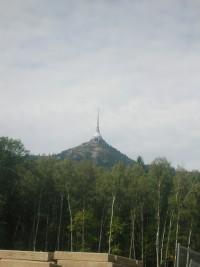 Ještěd - rozhledna Rašovka - Liberec