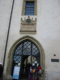 Vstup do Muzea stříbra Hrádek