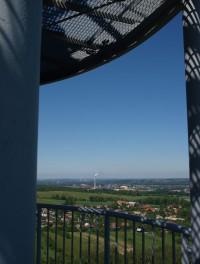výhled směrem celulózka Paskov