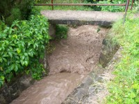 Potok a údolí Melatín
