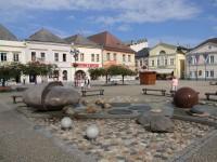 Netradiční fontána v Bruntále