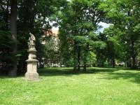 Zámecká zahrada v Teplicích