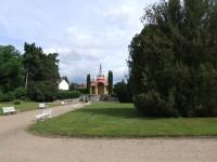 Zámecký park u ploskovického zámku