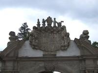 Bílá brána v Ostrově