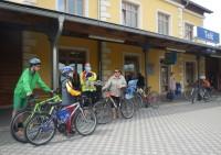 Na kole po železničních pražcích, ze Slavonic do Rakouska a zase zpět