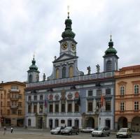 Barokní radnice města České Budějovice