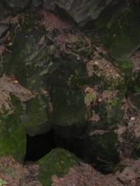 Ondrášovy díry - Studená jeskyně