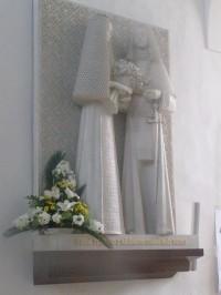 Reliéf sv. Zdislavy