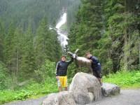 Cesta k vodopádům z Krimmel