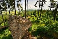 Chřiby: Zřícenina Stříleckého hradu