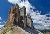 Itálie – Dolomity (2): Tre Cime di Lavaredo / Drei Zinnen - nejslavnější útvar Dolomit