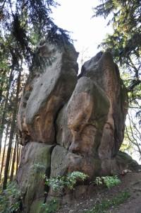 Chřiby (Buchlovské hory): Velký Buchlovský kámen