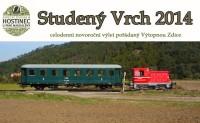 Novoroční Saxíkův vandr - výlet historickým vlakem na Studený Vrch