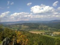 Šemnice, Dubina a hřeben Krušných hor v pozadí