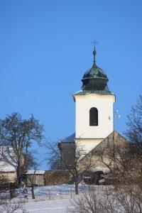 Kostelík Narození Panny Marie ve Vysokém Újezdu u Netvořic