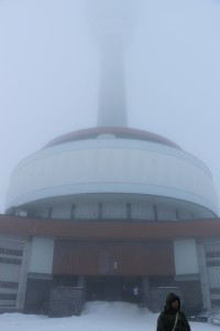 mlha u vysílače
