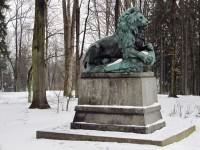 Krásná Lípa - socha lva