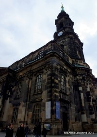 Drážďany - Kreuzkirche