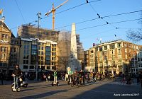 Amsterdam – náměstí Dam