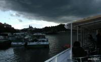 Plavba po Vltavě na lodi Czech Boat - 1.6.2012 / Neodradilo nás ani špatné počasí.