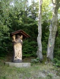 socha sv. Huberta (Vsetín-Putýrka)