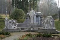 Priessnitzuv pomník ve Smetanových sadech