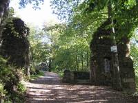 Kumburk - 1 vstupní brána