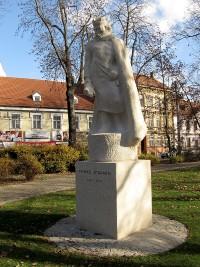 České Budějovice - socha Přemysla Otakara II.
