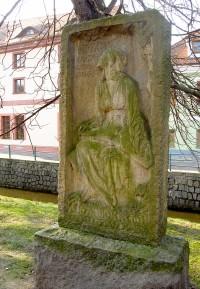 České Budějovice - Pomník Otakara Mokrého