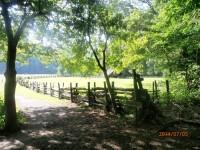 Mountain Farm museum in Cherokee