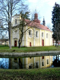 Kněževes (okr. RA) - kostel sv. Jakuba Většího