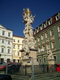 Brno - sloup Nejsvětější Trojice
