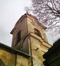 severozápadní pohled na věž