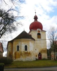 Děkov (okr. RA) - kostel Narození sv. Jana Křtitele