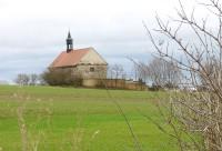 Kněževes (okr. RA) - kostel sv. Jana Křtitele