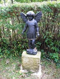 litinový andělíček