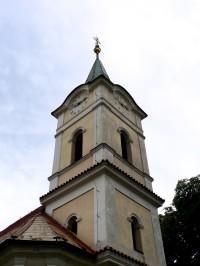 kostelní věž od severozápadu
