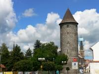 Čáslav - Otakarova věž a hradby
