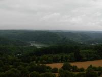 Výhled z rozhledny Rumburak